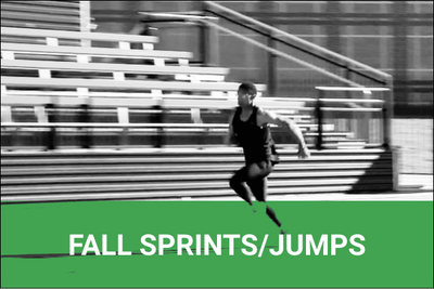 Fall Conditioning for Sprinters and Jumpers - 8 Weeks