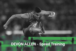 Devon Allen Speed Training - 8 Weeks