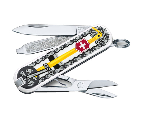 Švicarski nož Victorinox Classic 0.6223.L2001, Bike Ride, limited edition