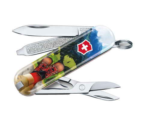 Švicarski nož Victorinox Classic 0.6223.L2002, I Love Hiking, limited edition