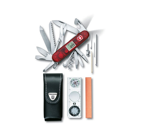 Švicarski nož Victorinox Expedition Kit 1.8741.AVT, komplet, rubin