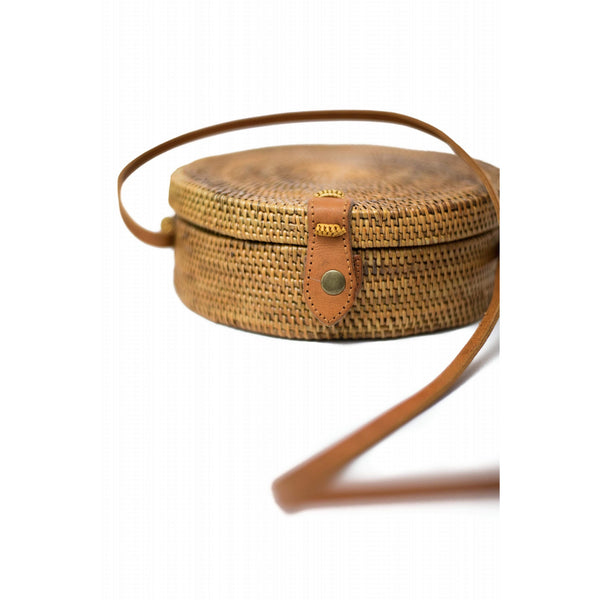 Handwoven Rattan Bag (Medium)