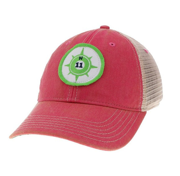 Key Lime Compass Trucker Hat