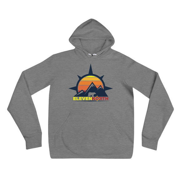 Sun & Mountains 2 Fleece Hoodie