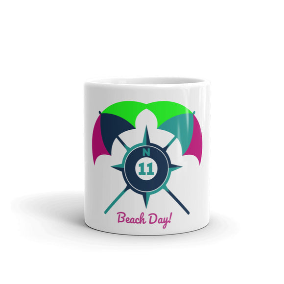 Beach Day Umbrella Mug