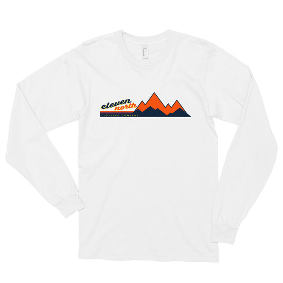 Mountain Peaks Long sleeve T-Shirt