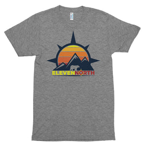 Sun & Mountains 2 Tri-Blend T-Shirt