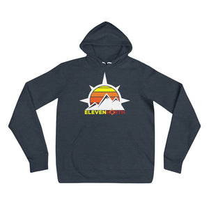 Sun & Mountains Fleece Hoodie