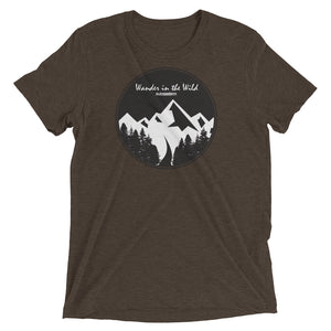 Wander In The Wild Tri-Blend T-Shirt