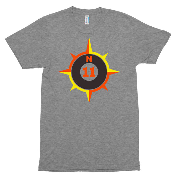 Big Compass Tri-Blend T-Shirt