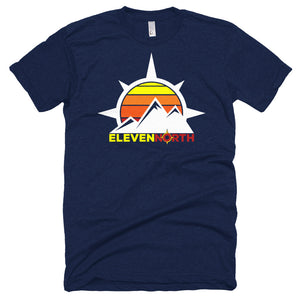 Sun & Mountains Poly-Cotton T-Shirt