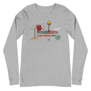 2019 Christmas Move Mash Up Long Sleeve T-Shirt