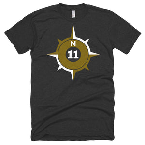 Big Compass Poly-Cotton T-Shirt
