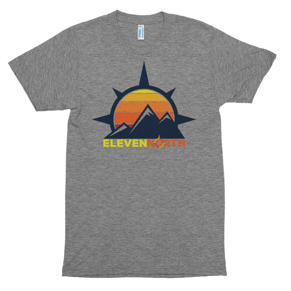 Sun & Mountains Tri-Blend T-Shirt