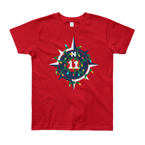 Youth Christmas Compass T-Shirt