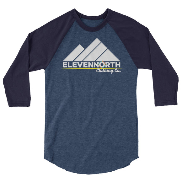 Mountain 3/4 Sleeve Raglan