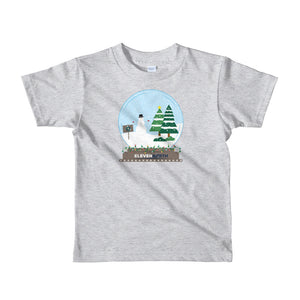 Kids Frosty Snow Globe T-Shirt