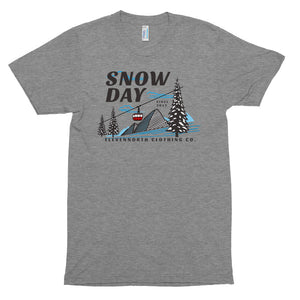 Snow Day Tri-Blend T-Shirt