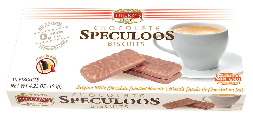 Speculoos  Chocolate Biscuits 6-pack