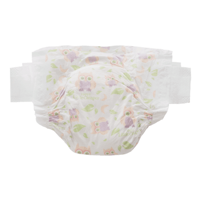 Happy Little Camper Natural Baby Nappies - SIZE 2: INFANT