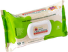 Baby wipes with organic aloe vera