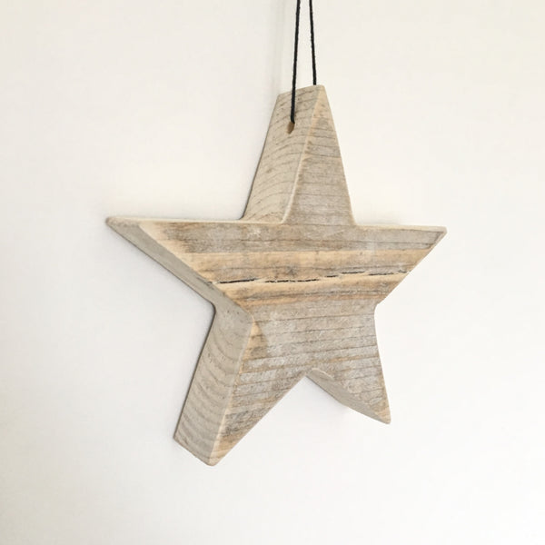 Rustic Wooden Star