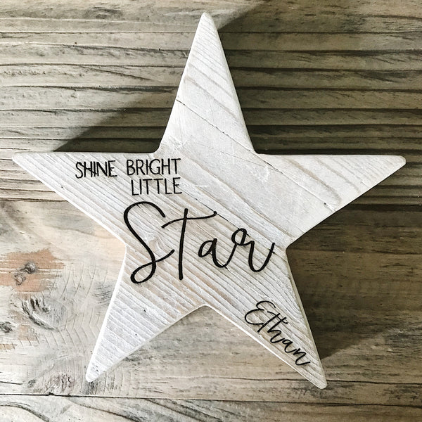 Shine bright little star