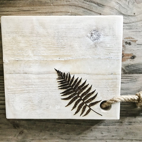 Rustic Square Serving board