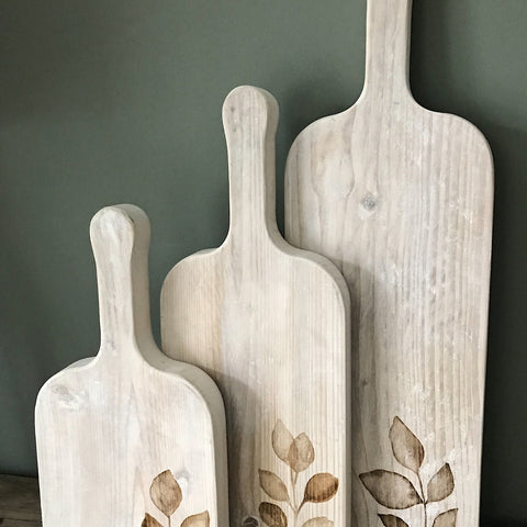 Rustic serving boards