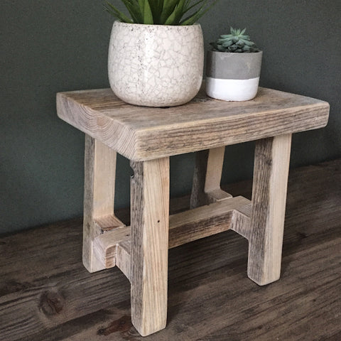 Mini Rustic Stool