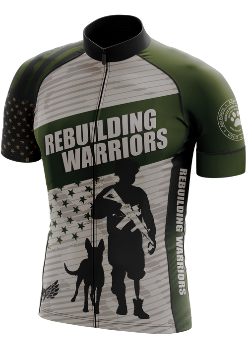 Rebuilding Warriors Cycling Jersey