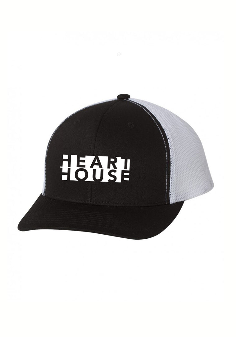 Heart House Trucker Hat at CLOZTALK