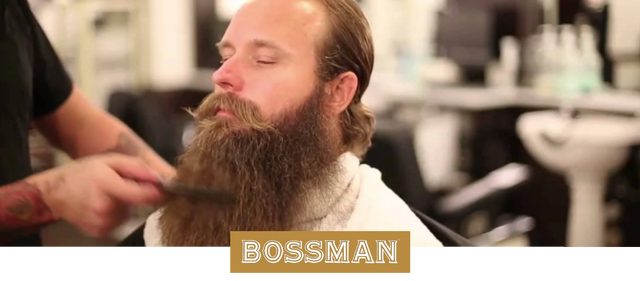 Bossman Stephen Condon Visits Finley's Barber (Beard Trimming Tips)