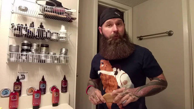 Bossman Brands Boar Hair Beard Brush