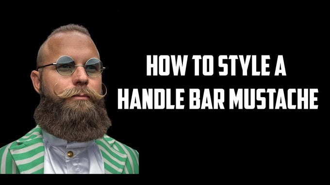 How to style a Handle Bar Mustache