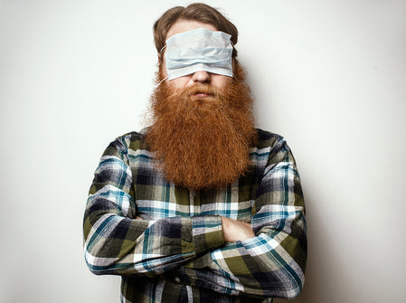 Coolest Face Masks For Bearded Men
