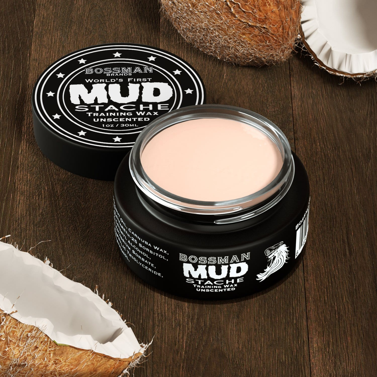 MUDstache® Mustache Training Wax