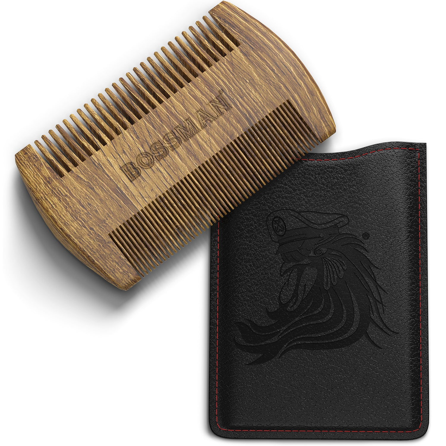 Pocket Size Green Sandalwood Comb