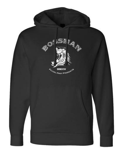 Bossman Black Pull Over Hoodie (Heavy Weight)