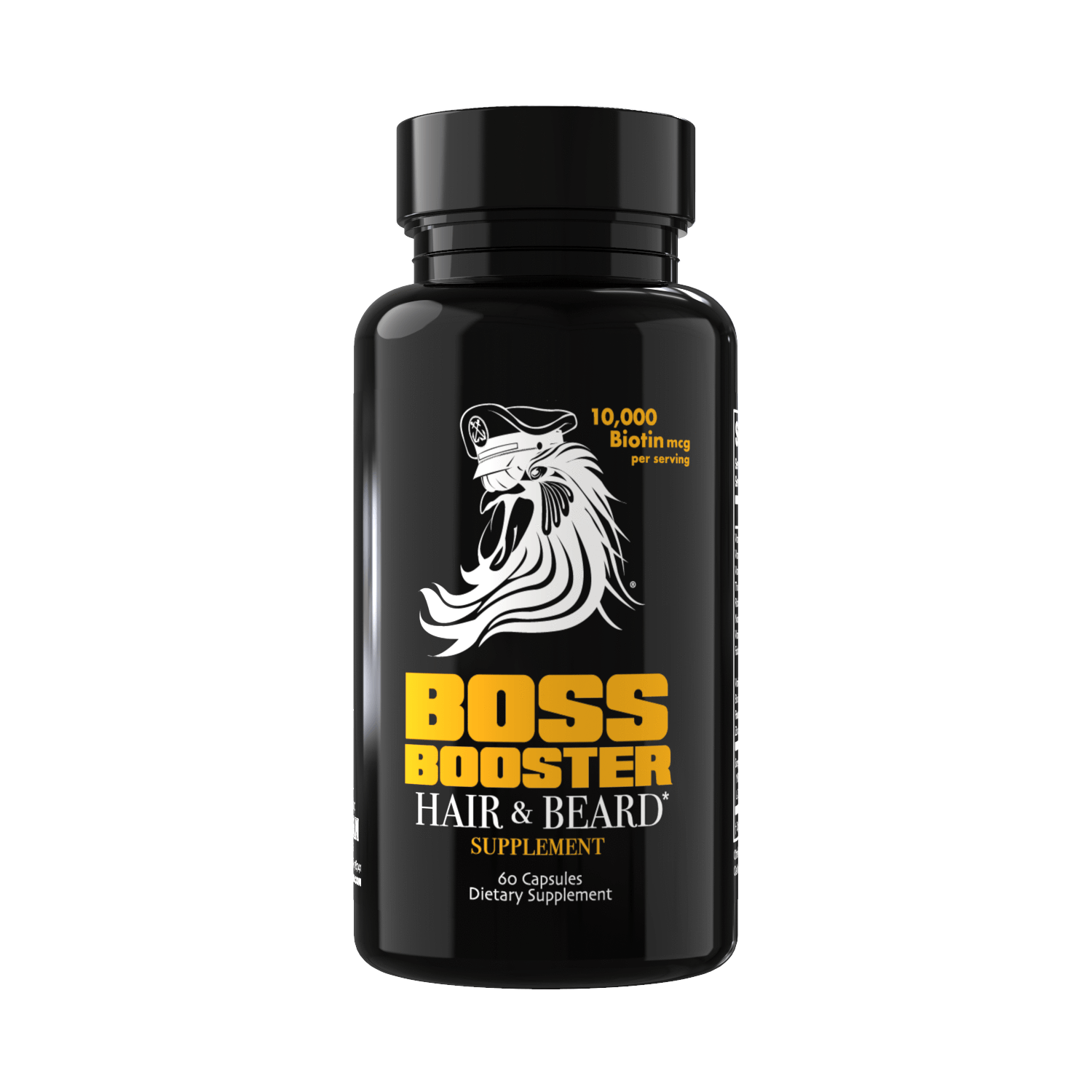 Boss Booster Beard & Hair Growth Supplements 60 Capsules