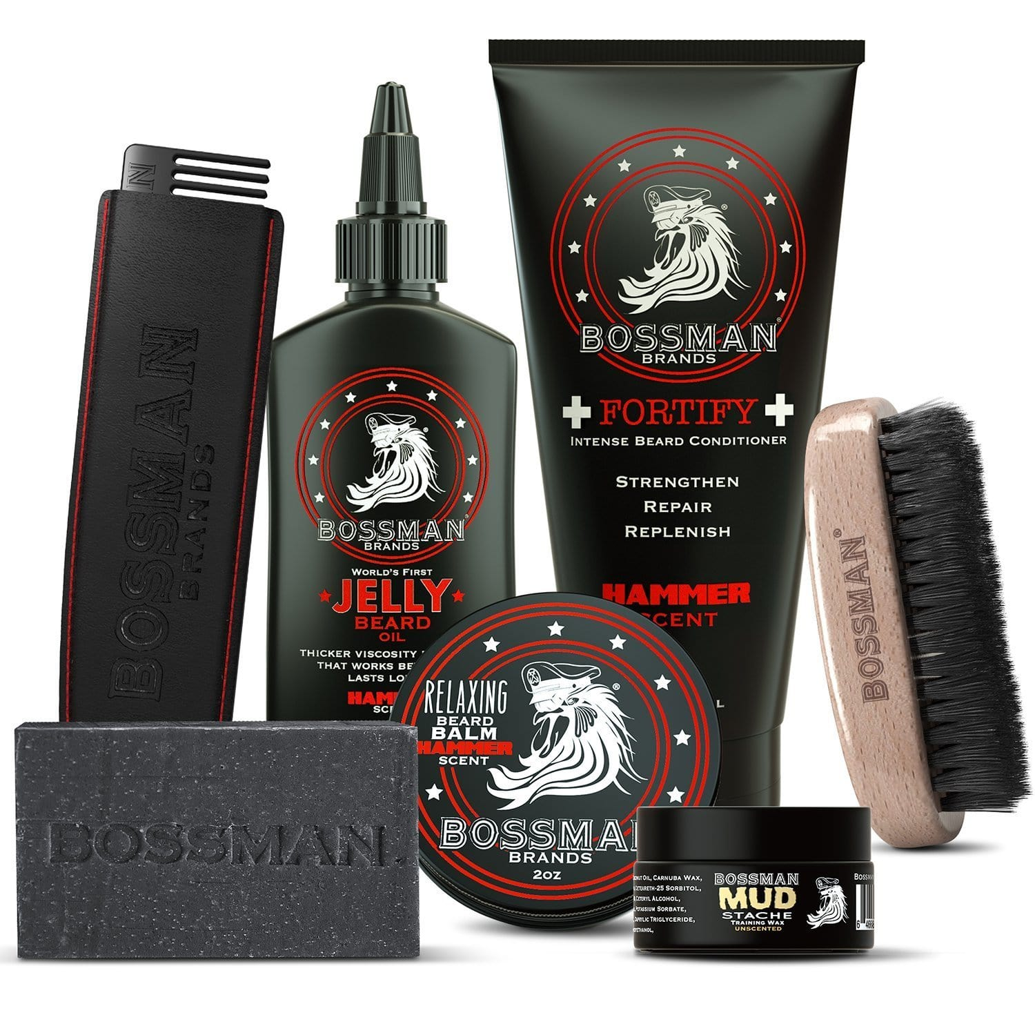 Bossman Big Boss Beard Care Kit - Hammer Scent