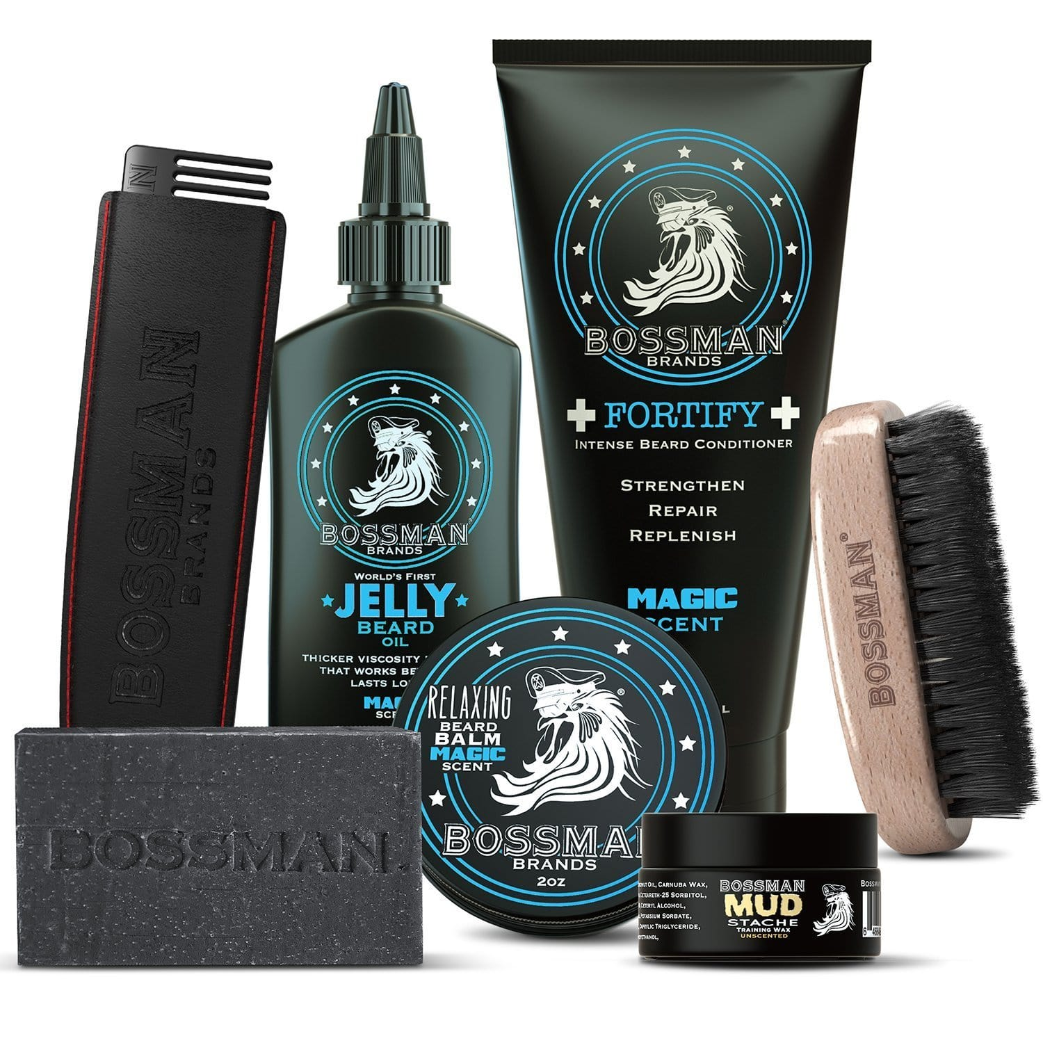 Bossman Big Boss Beard Care Kit - Magic Scent