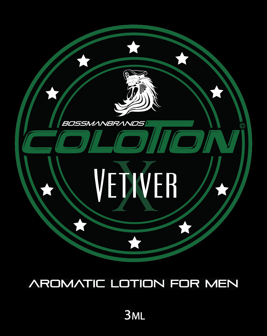 Aromatic Lotion for Men Vetiver XLabel