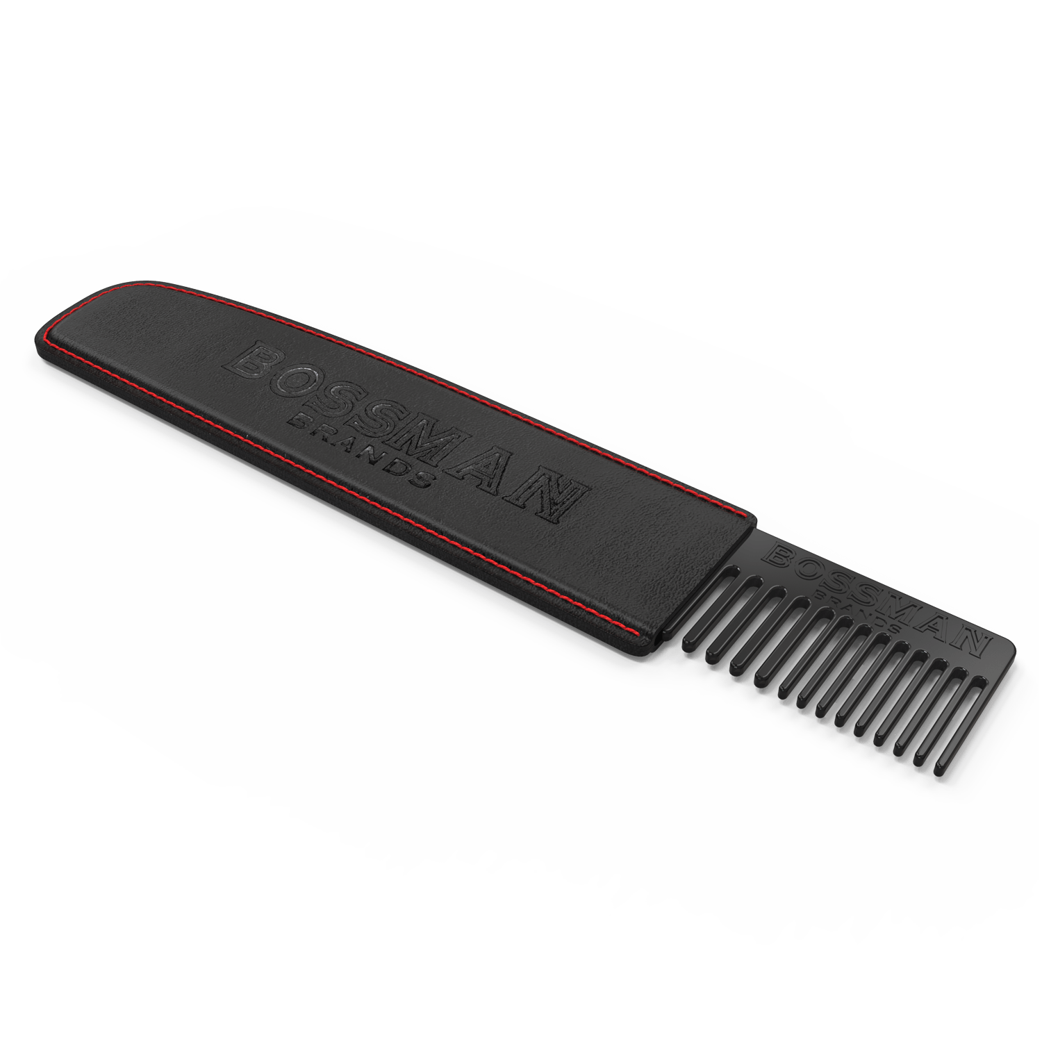 Bossman Metal Beard, Mustache & Hair Comb