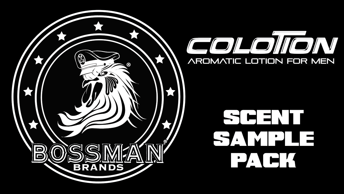 Bossman Colotion Scent Sample Pack Label