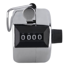 Digital Chrome Hand Tally Clicker/Counter 4 Digit Number Clicker Golf Digital Chrome Hand Tally Clicker/Counter free shipping