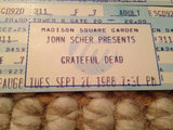 150 Never Used Grateful Dead Tickets