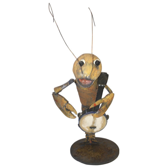 1940s Lobster Playing Banjo Automaton