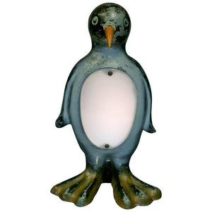 Adorable Rare Art Deco Penguin Lamp