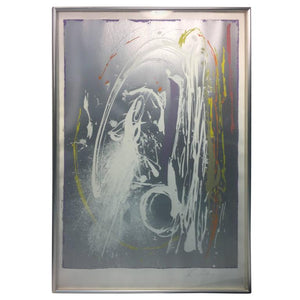 Amazing Abstract Splatter Silkscreen or Lithograph by Dan Christensen